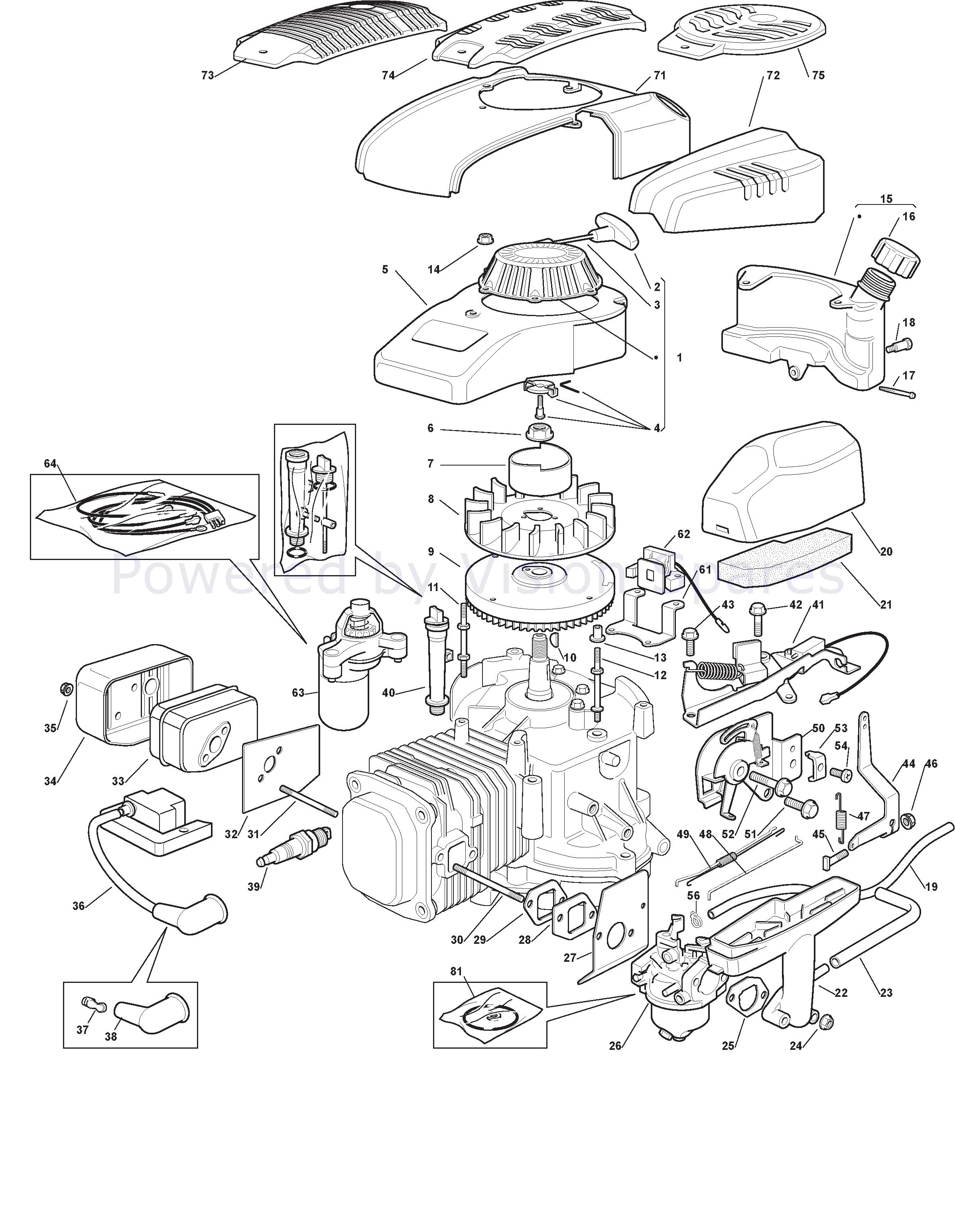 MOUNTFIELD SP555V piastra di montaggio del motore 322207226//0 Genuine PART