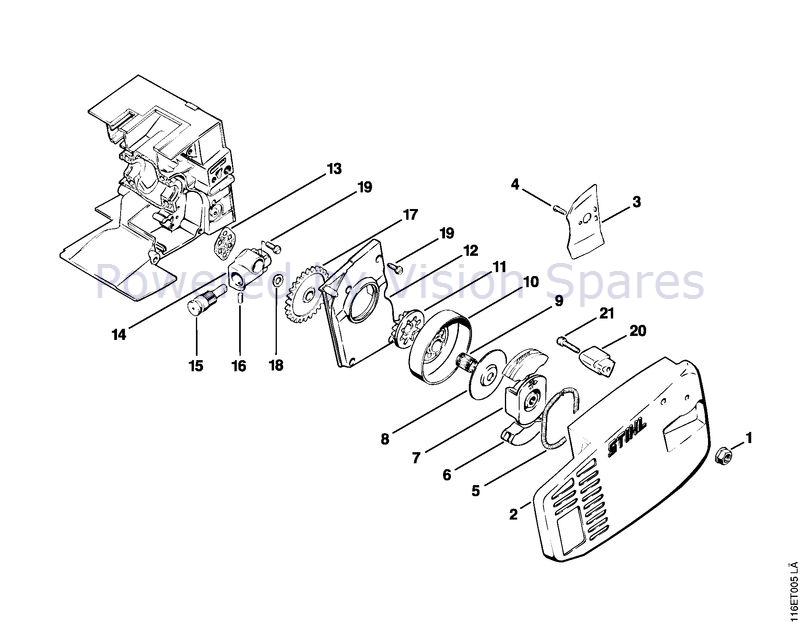 25 Stihl 015 Chainsaw Parts Diagram