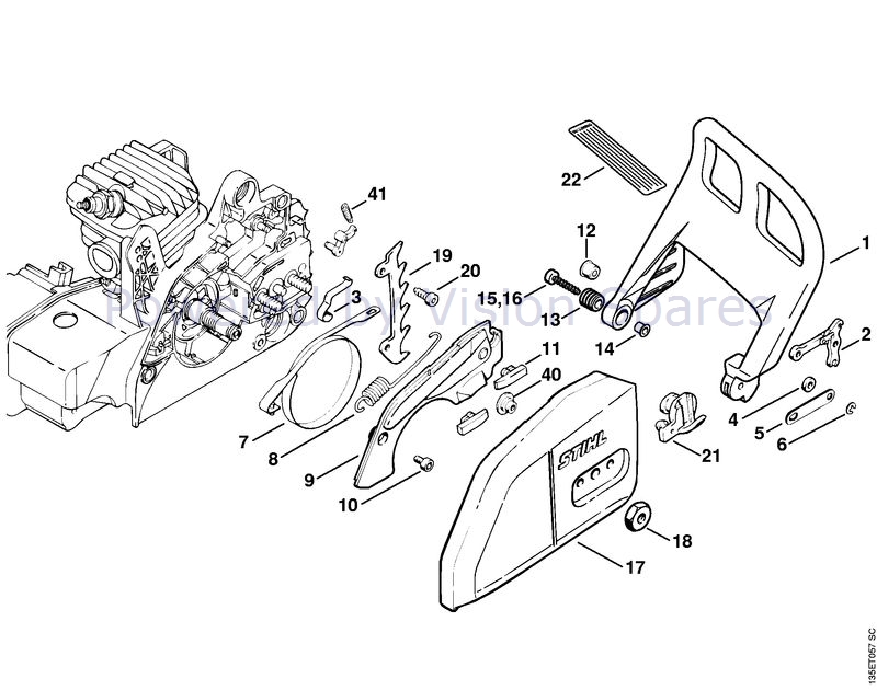31 Stihl Ts400 Parts Diagram
