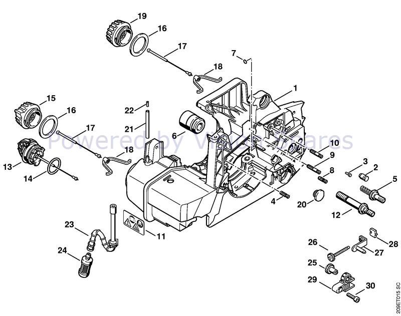 Stihl 029 Parts Diagram